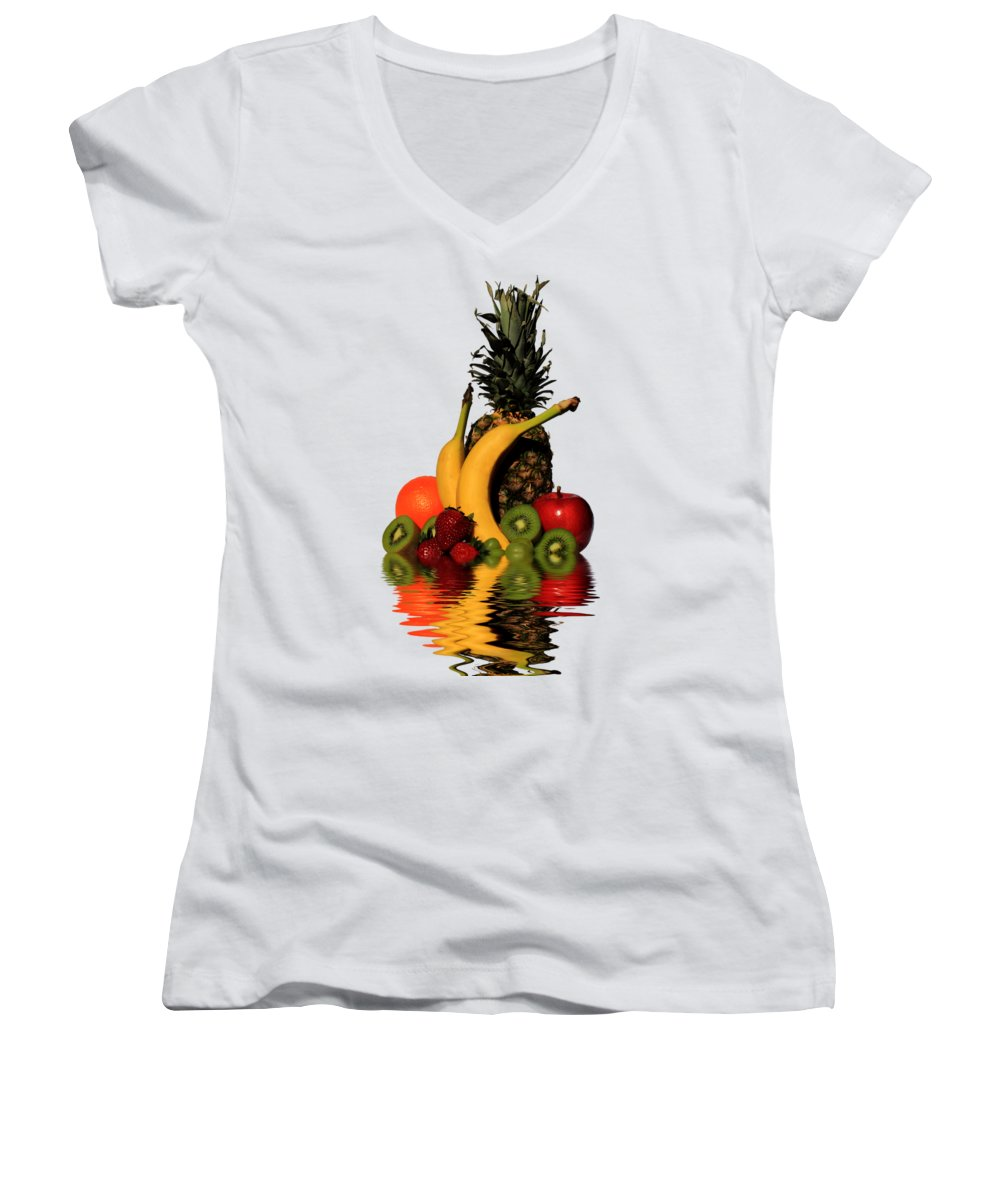 Strawberry Junior V-Neck T-Shirts