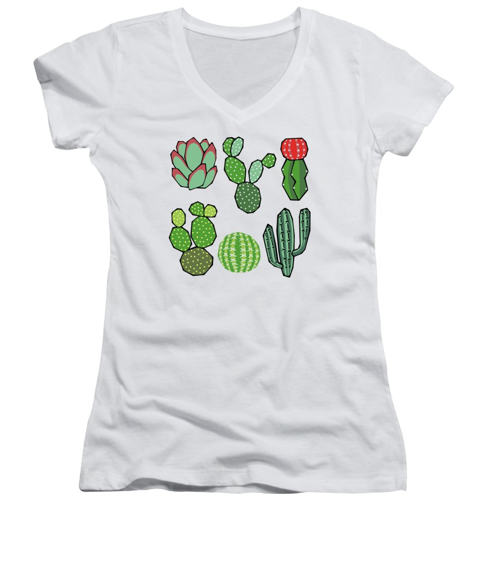 Garden Junior V-Neck T-Shirts