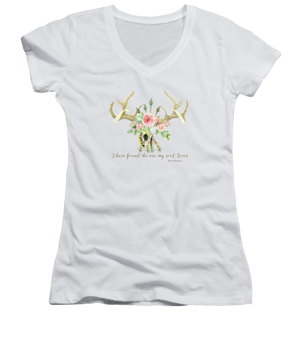 Pheasant Women's V-Neck T-Shirts