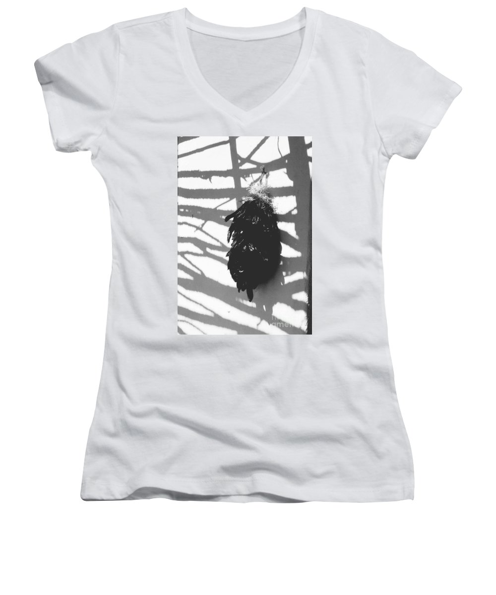 Chiles Women's V-Neck (Athletic Fit) featuring the photograph Chiles by Kathy McClure