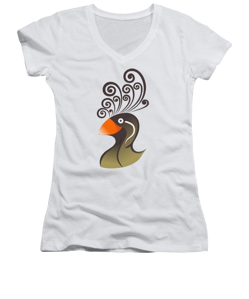 Auklets Junior V-Neck T-Shirts