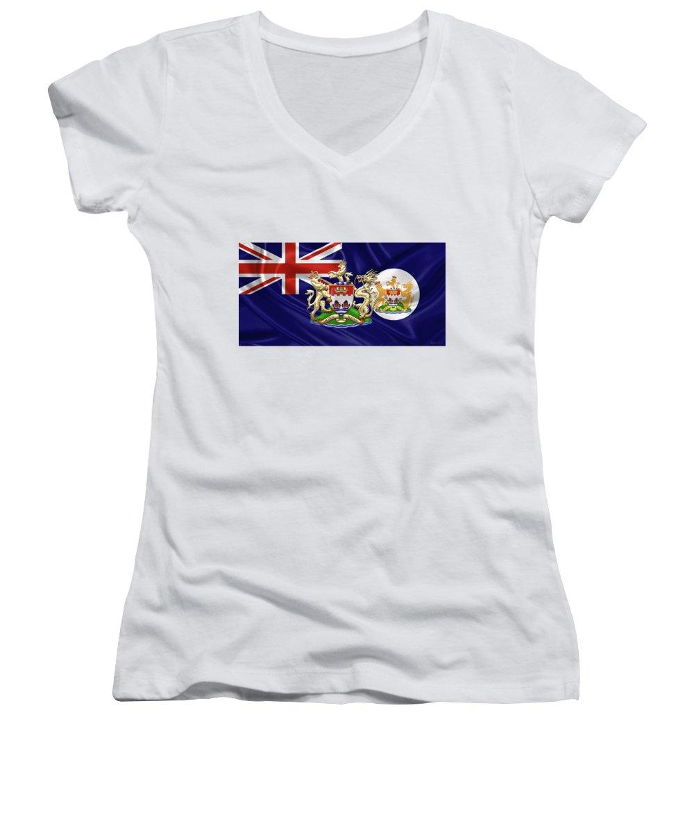Hong Kong Junior V-Neck T-Shirts
