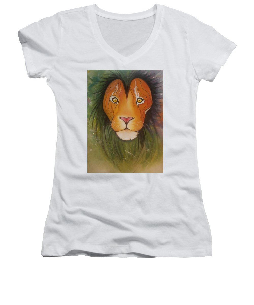Animals Women's V-Neck T-Shirts