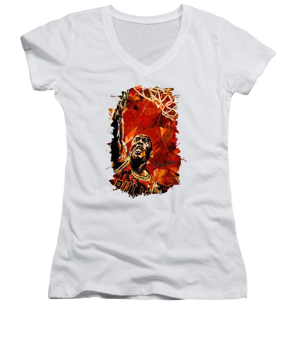 Goat Women's V-Neck T-Shirts