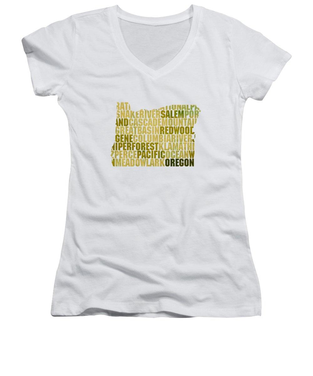 Oregon State Junior V-Neck T-Shirts