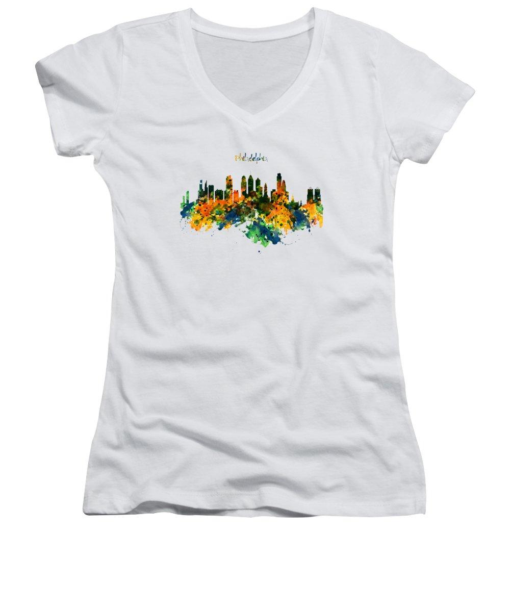 Philadelphia Junior V-Neck T-Shirts