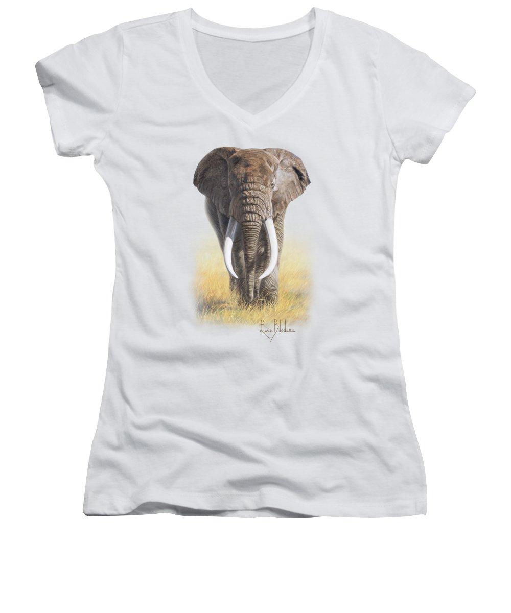 Elephant Junior V-Neck T-Shirts