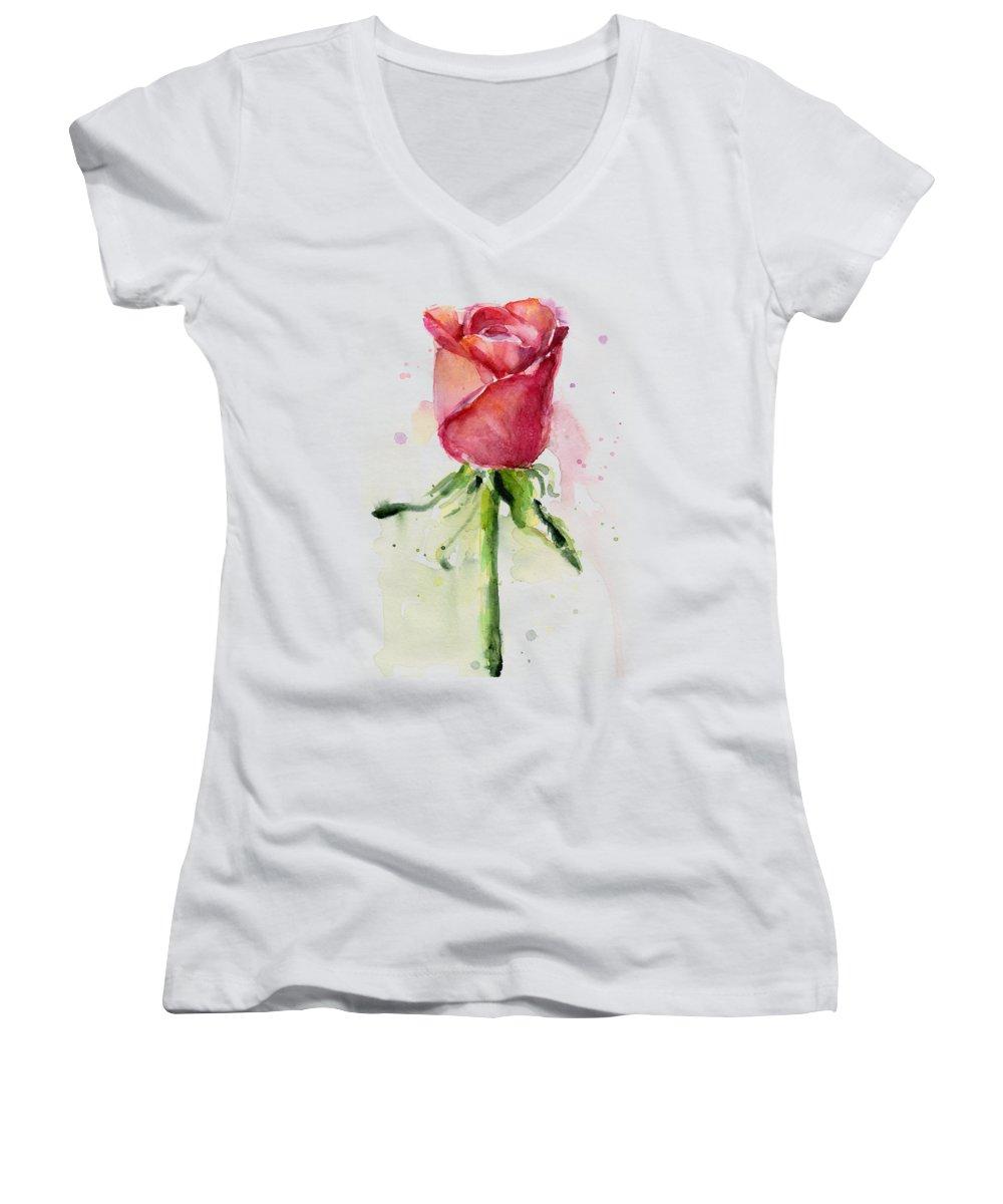 Roses Junior V-Neck T-Shirts