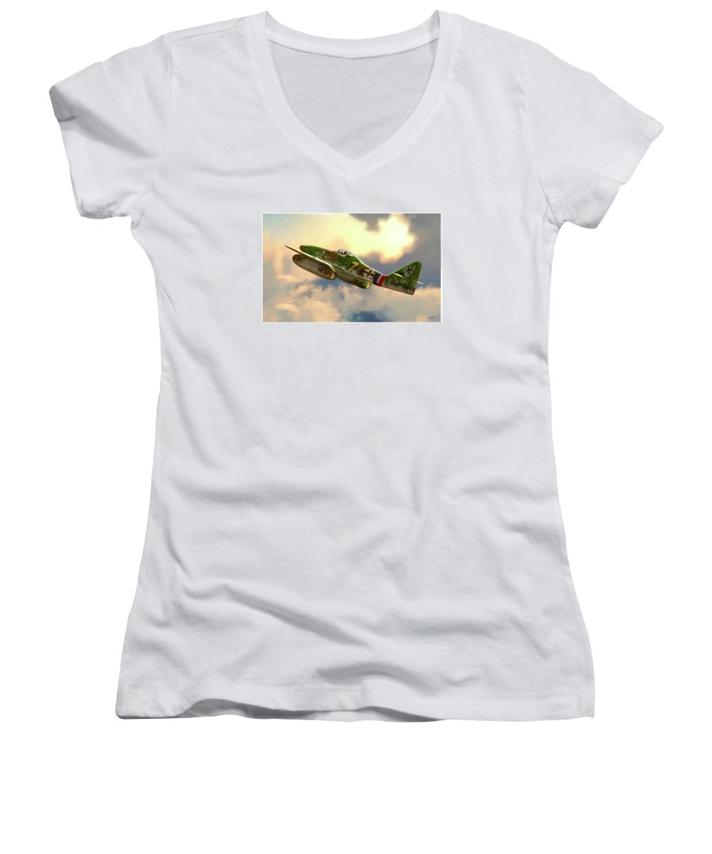 Smithsonian Museum Women's V-Neck T-Shirts