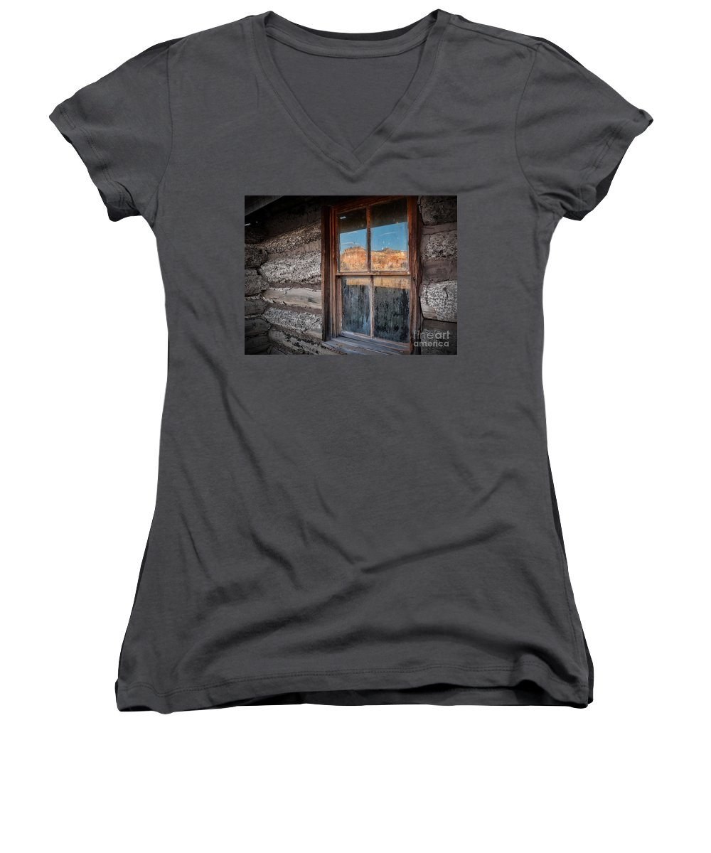 aa5c0c2a53 Kitchen Mesa Window Reflection Women's V-Neck for Sale by Matt Suess