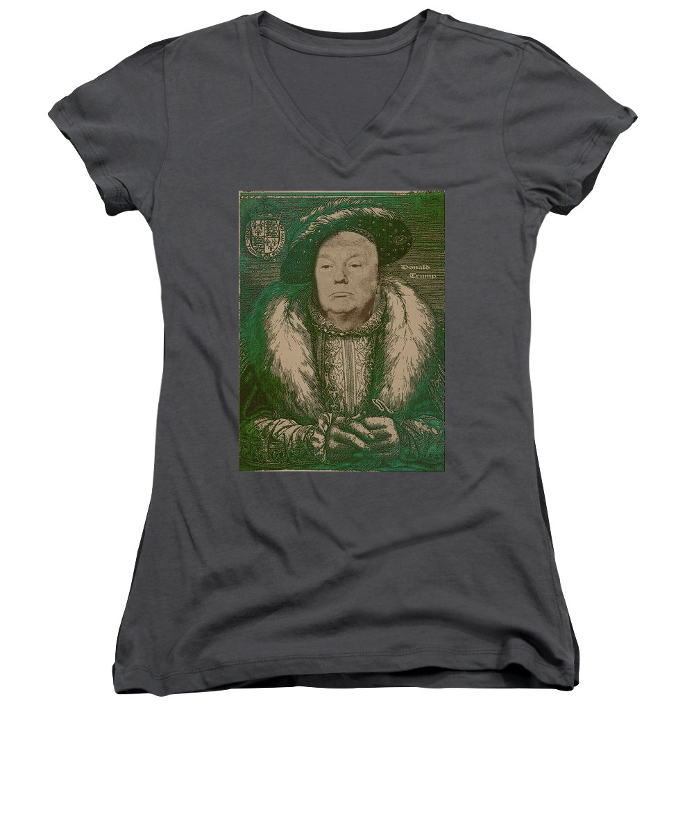 Portraits Junior V-Neck T-Shirts