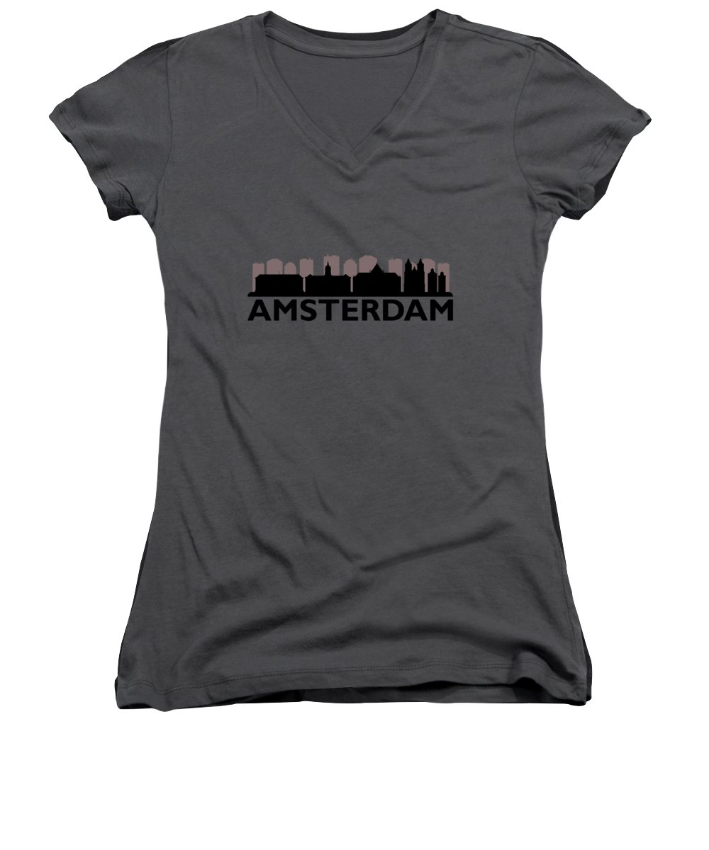 Architecture Women's V-Neck T-Shirts