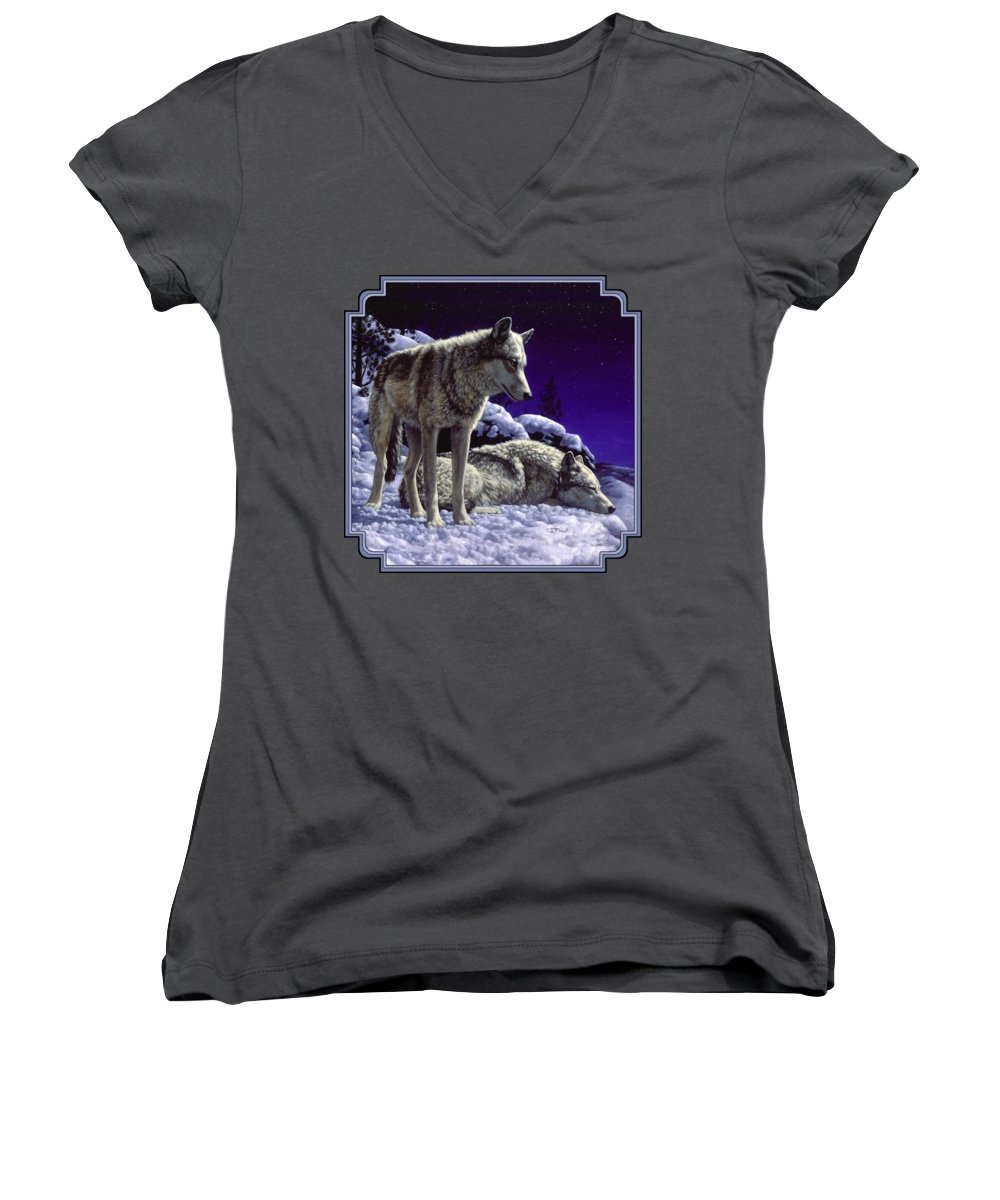 Prairie Dog Junior V-Neck T-Shirts