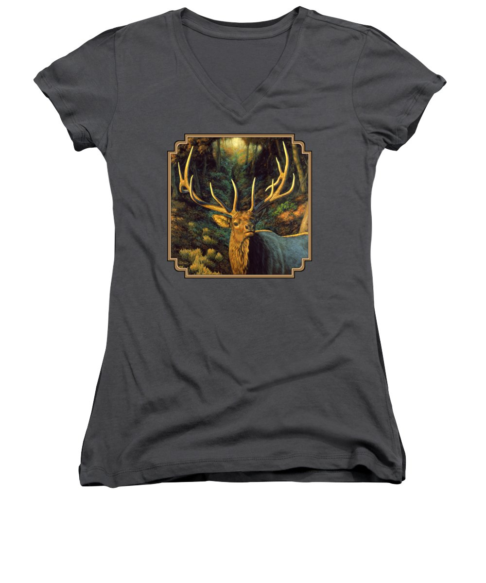 Yellowstone Women's V-Neck T-Shirts
