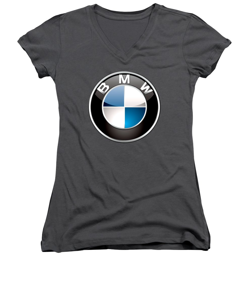 Luxury Cars Women's V-Neck T-Shirts