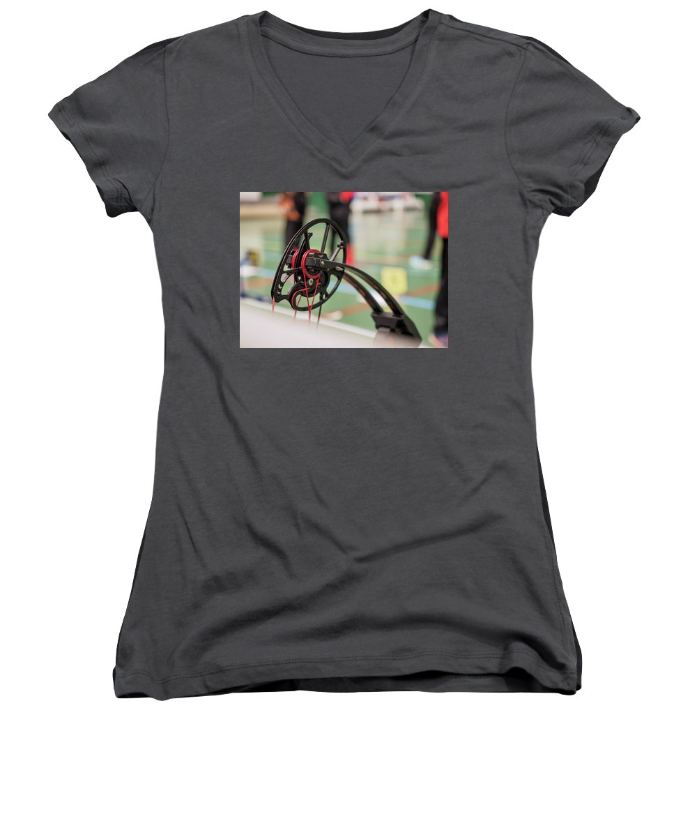 Sports Women's V-Neck T-Shirts