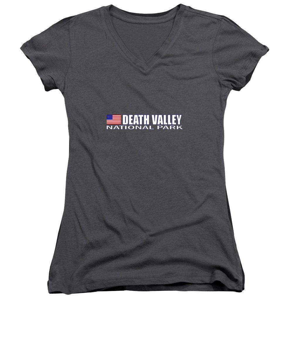 Death Valley Junior V-Neck T-Shirts