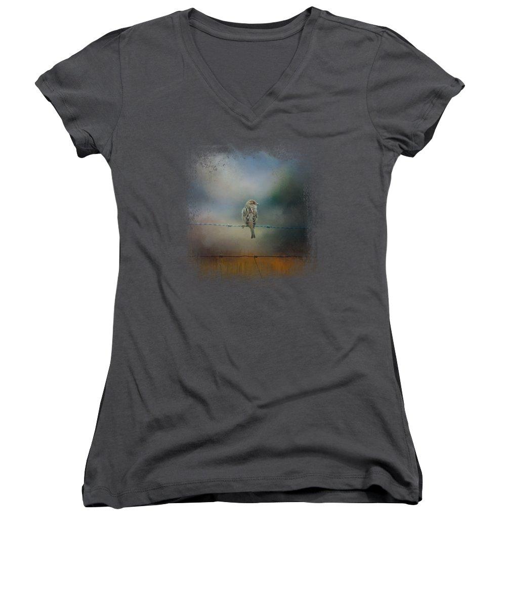 Sparrow Junior V-Neck T-Shirts