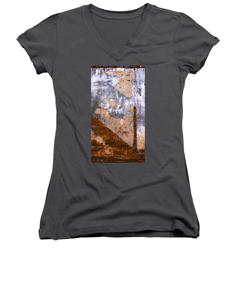 Architecture Women's V-Neck (Athletic Fit) featuring the photograph Finger Food by Skip Hunt