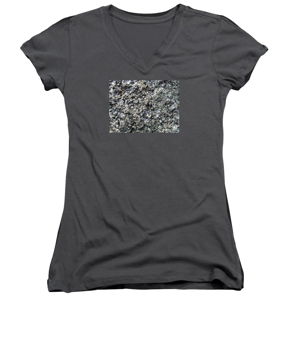 Granite Women's V-Neck T-Shirt featuring the photograph Granite Mountains by Chad Natti