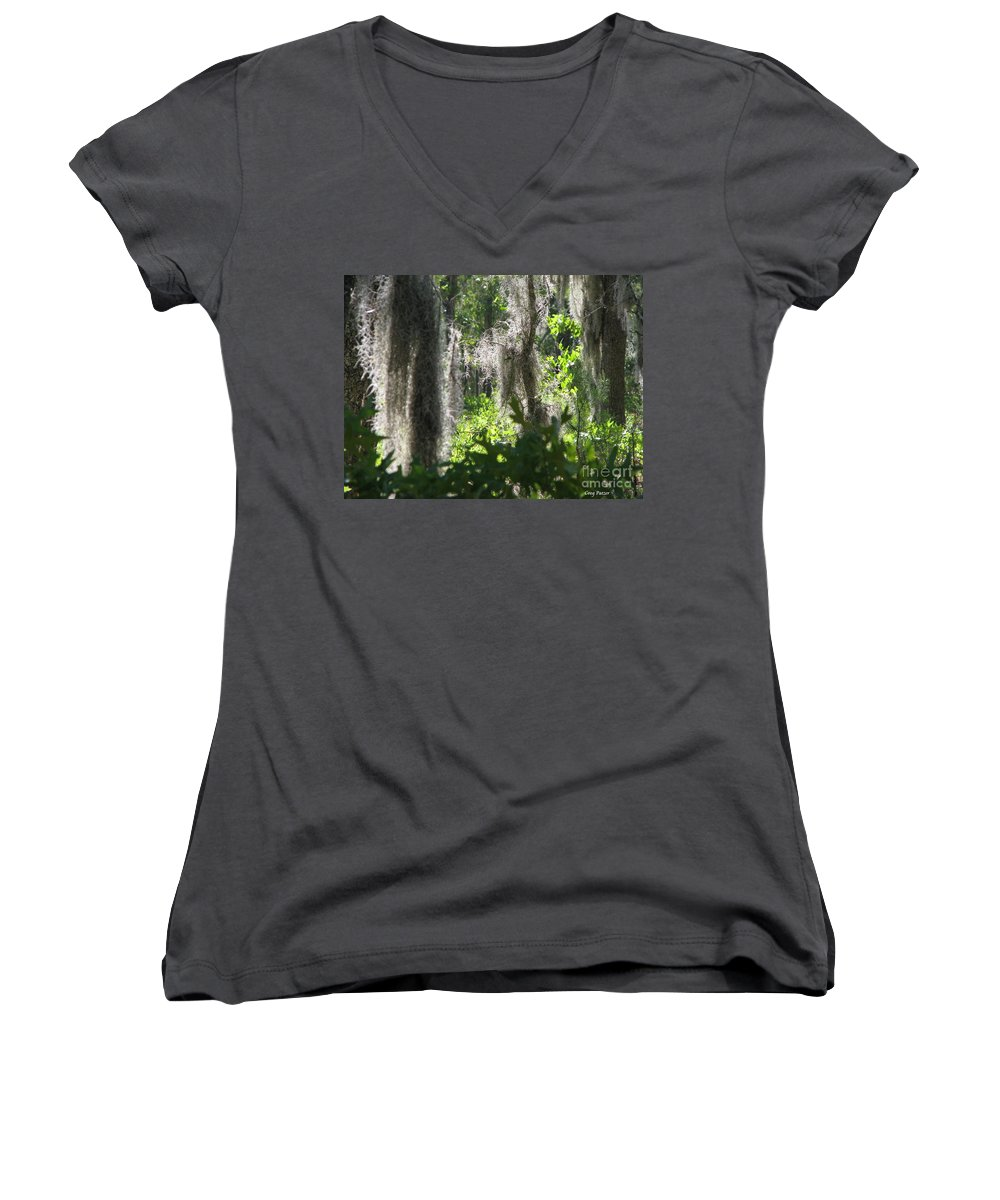Florida Women's V-Neck (Athletic Fit) featuring the photograph Home by Greg Patzer