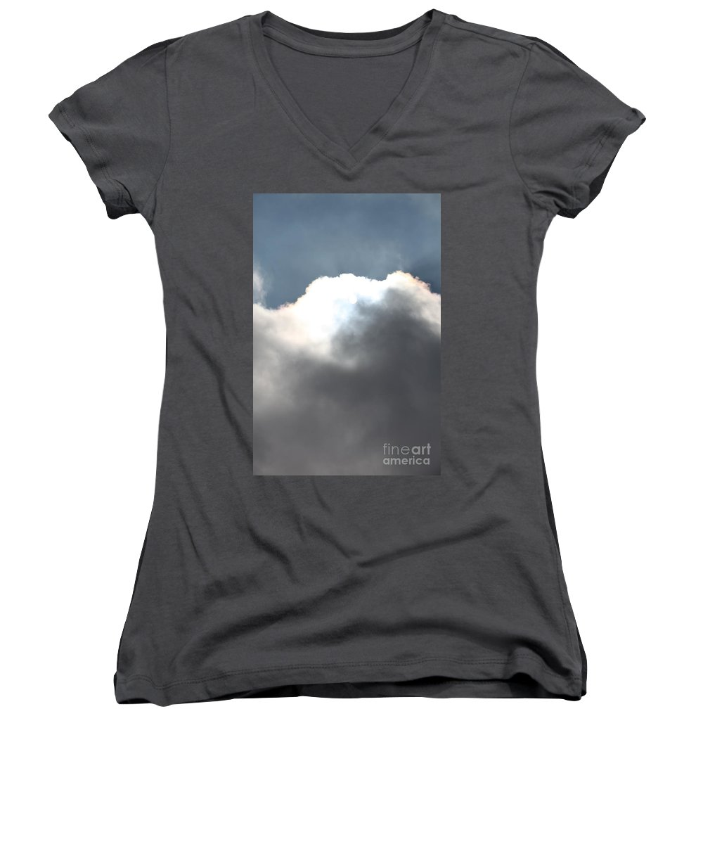 Hope Women's V-Neck T-Shirt featuring the photograph Hope by Nadine Rippelmeyer