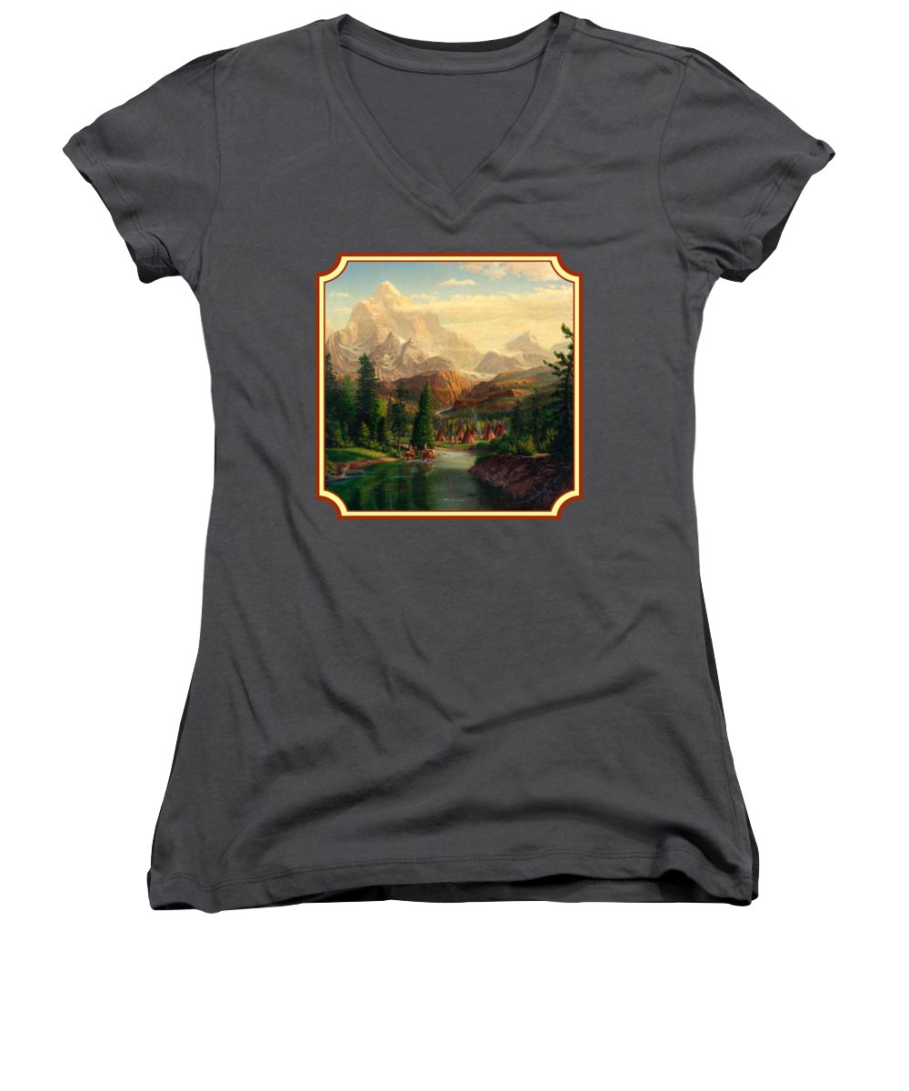 Teton Women's V-Neck T-Shirts
