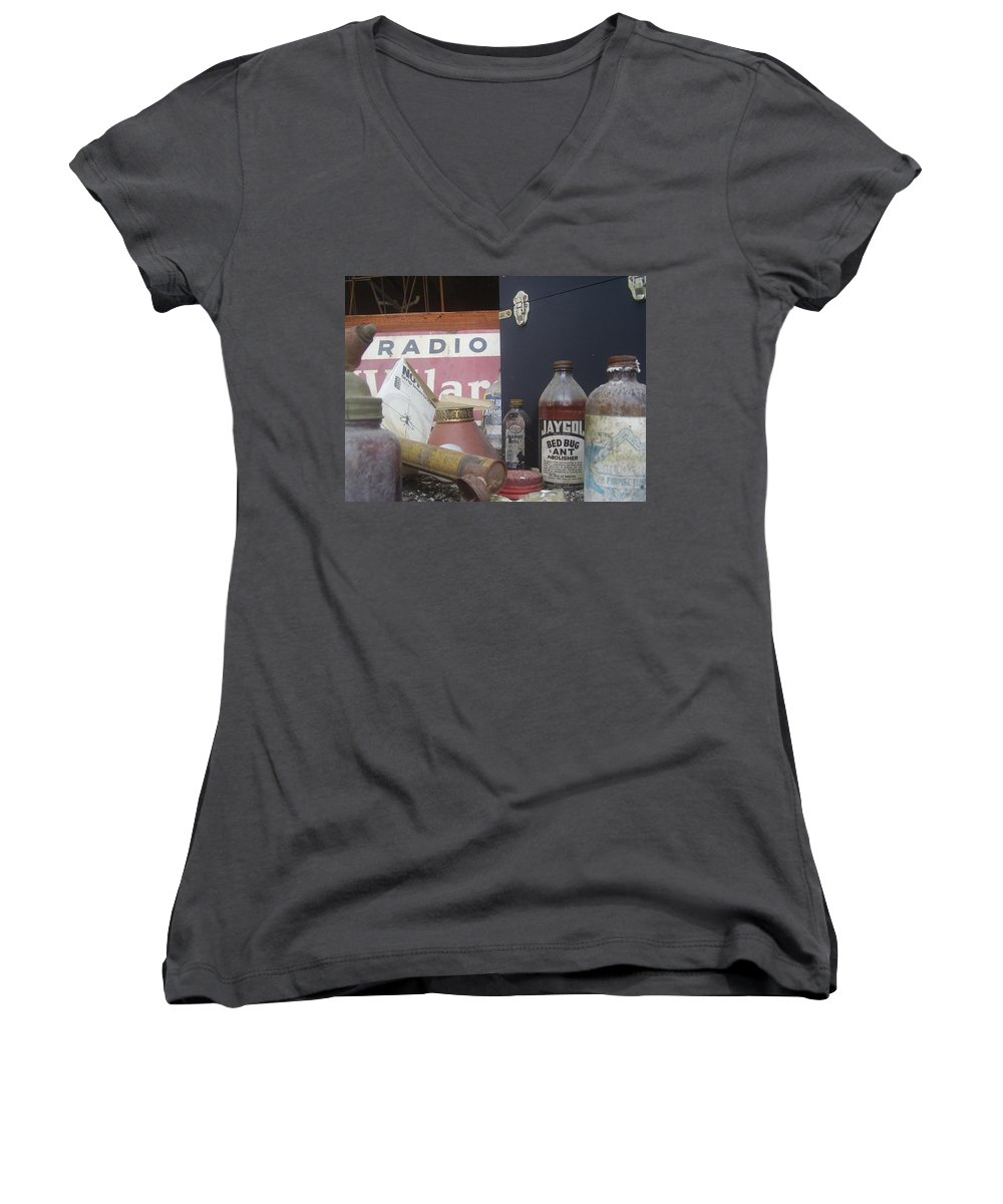 Window Women's V-Neck (Athletic Fit) featuring the photograph Jaygol by Flavia Westerwelle