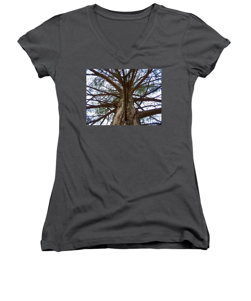 Life Women's V-Neck (Athletic Fit) featuring the photograph Live Spokes by Nadine Rippelmeyer