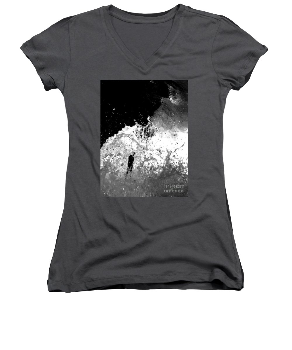 Water Women's V-Neck (Athletic Fit) featuring the photograph Natural Power by Amanda Barcon