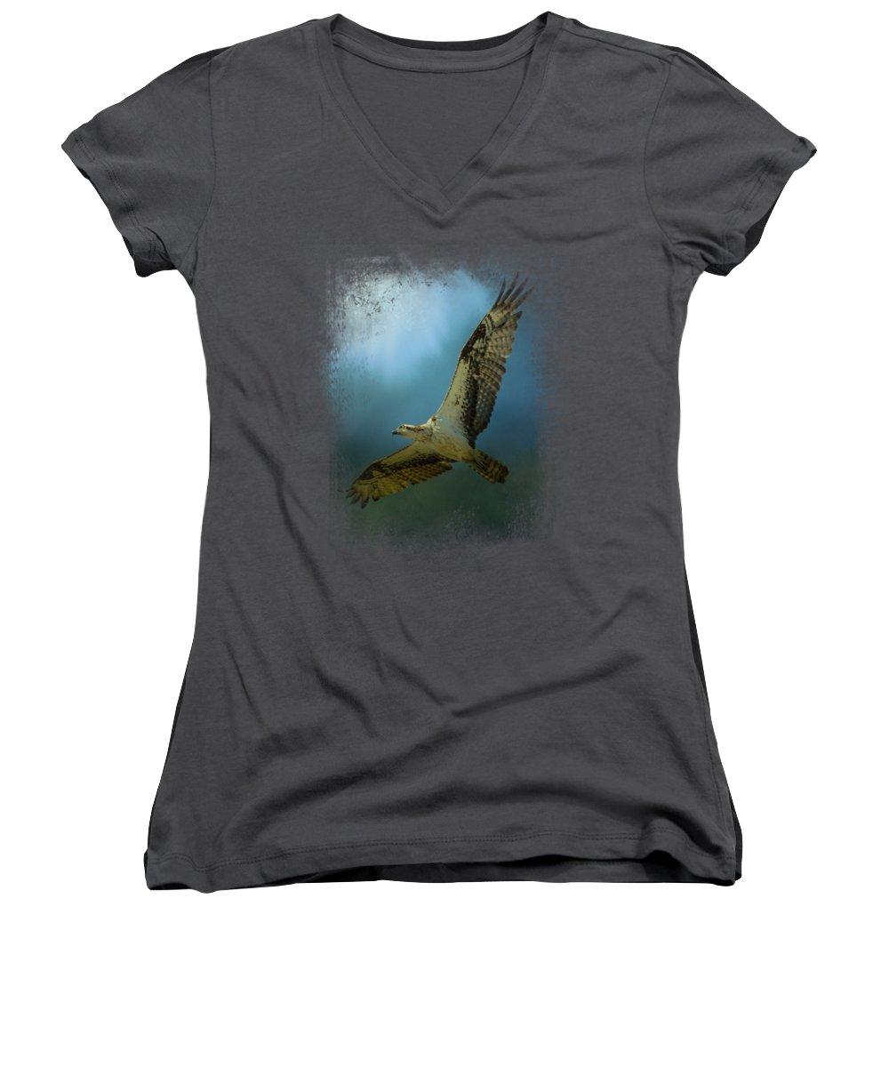 Osprey Women's V-Neck T-Shirts