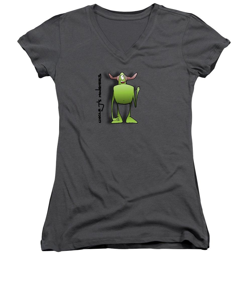 Cyclops Women's V-Neck T-Shirts