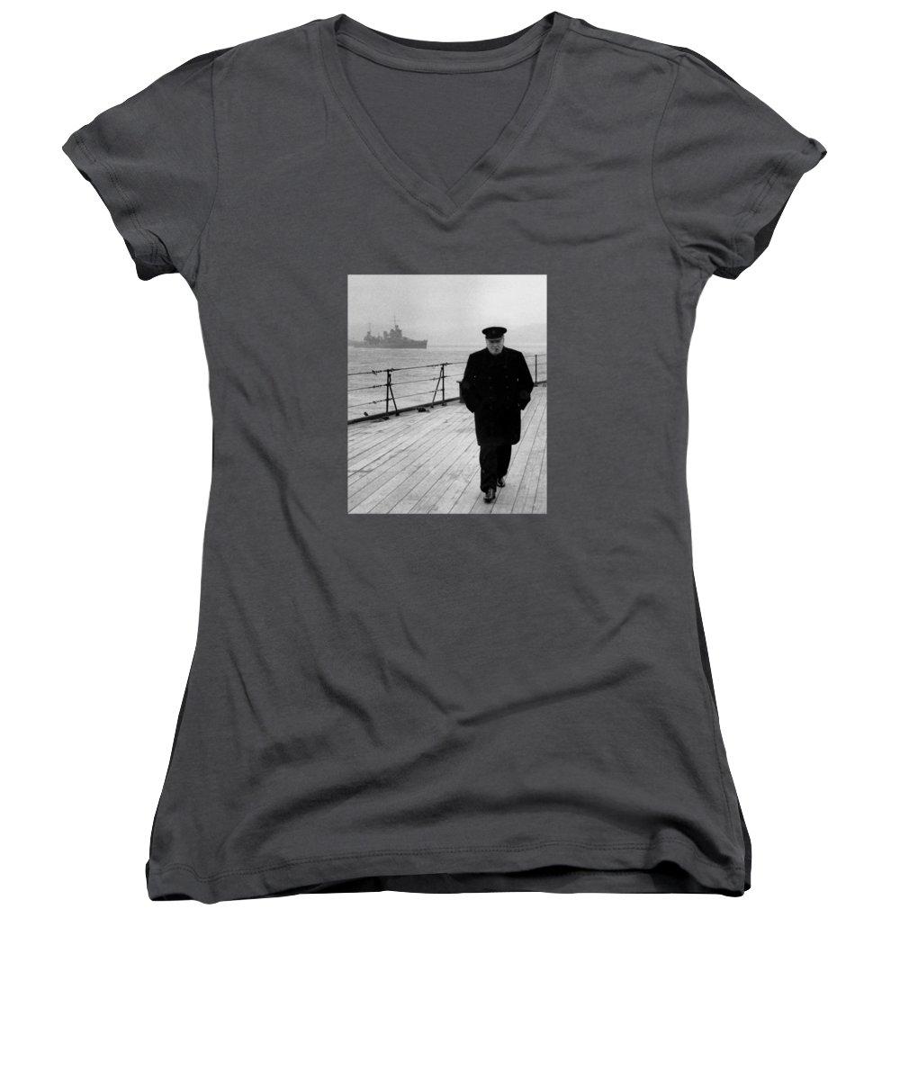 Boat Women's V-Neck T-Shirts