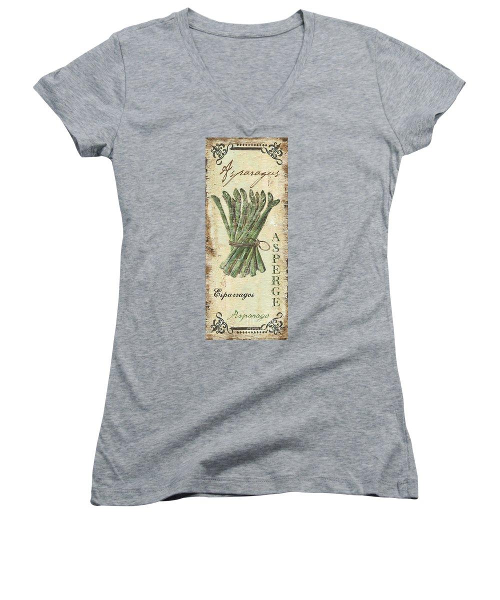 Asparagus Junior V-Neck T-Shirts