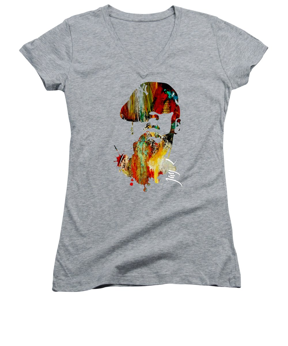Jay Z Women's V-Neck T-Shirts
