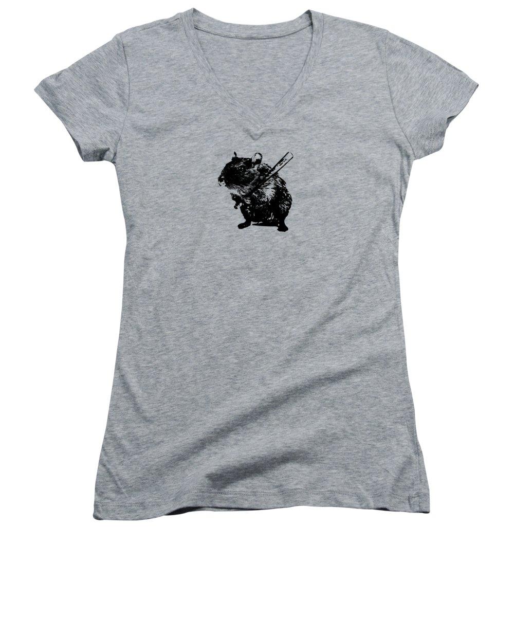 Beaver Junior V-Neck T-Shirts