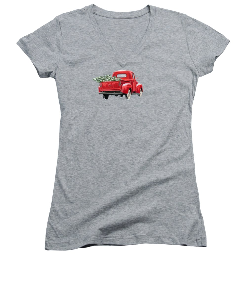 Mountain Junior V-Neck T-Shirts