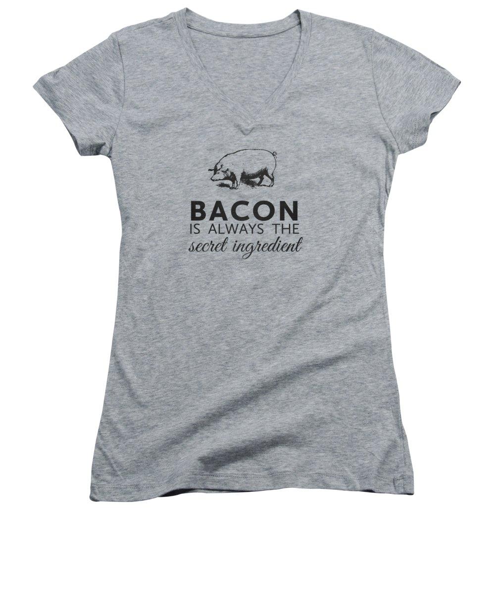 Rural Scenes Women's V-Neck T-Shirts
