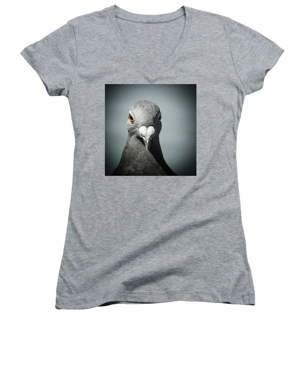 Portraits Women's V-Neck T-Shirts