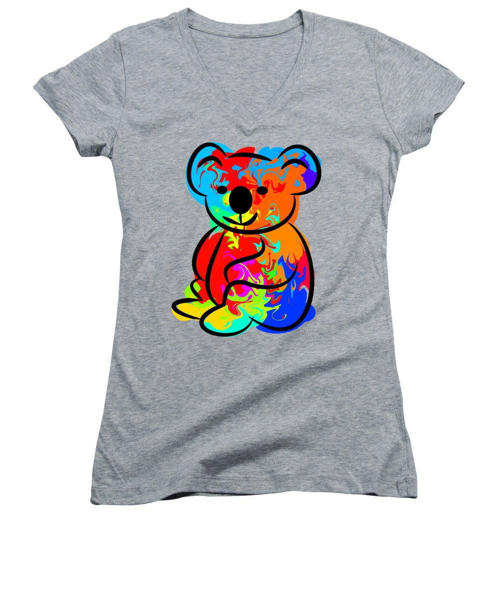 Koala Women's V-Neck T-Shirts