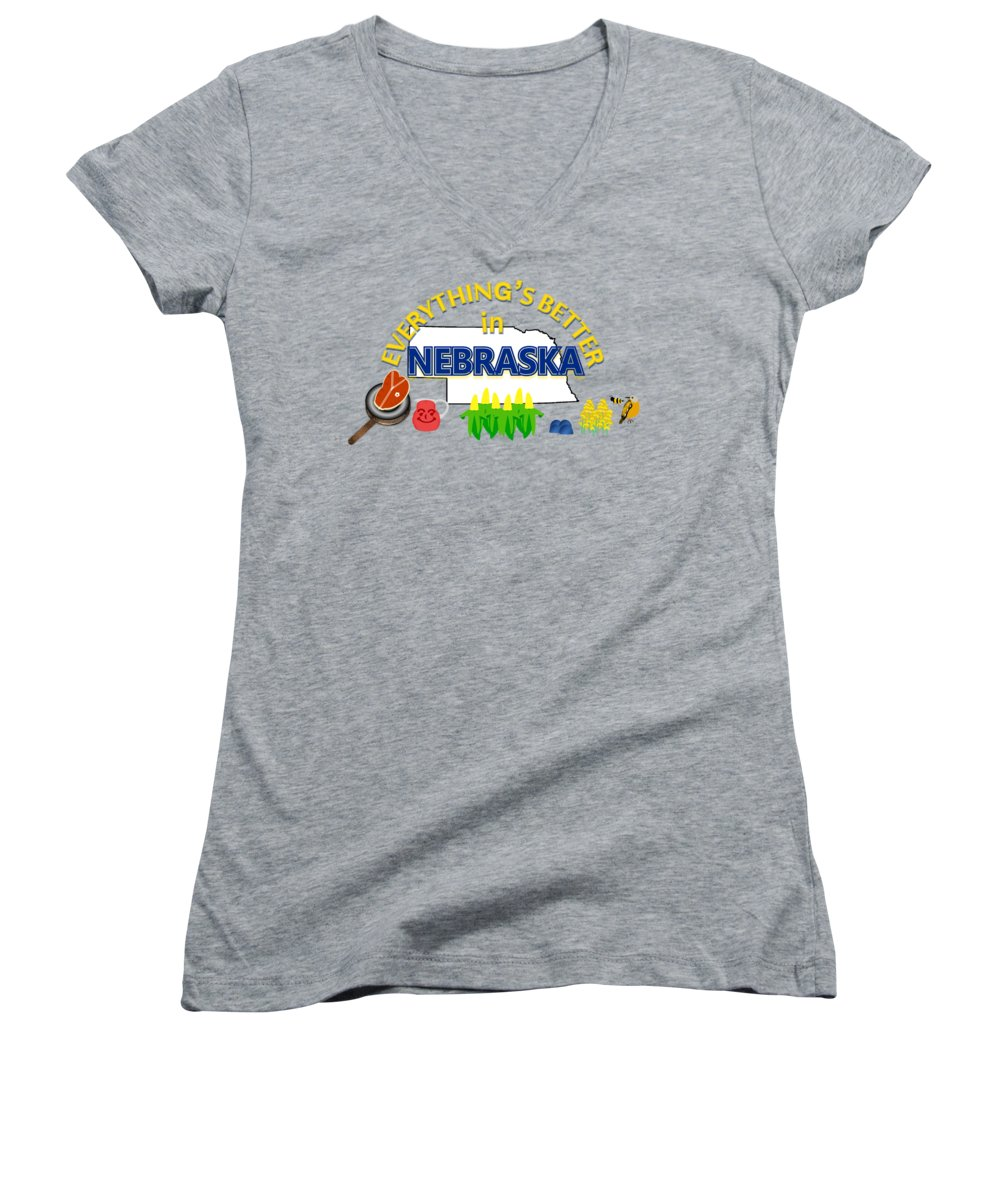 Meadowlark Junior V-Neck T-Shirts