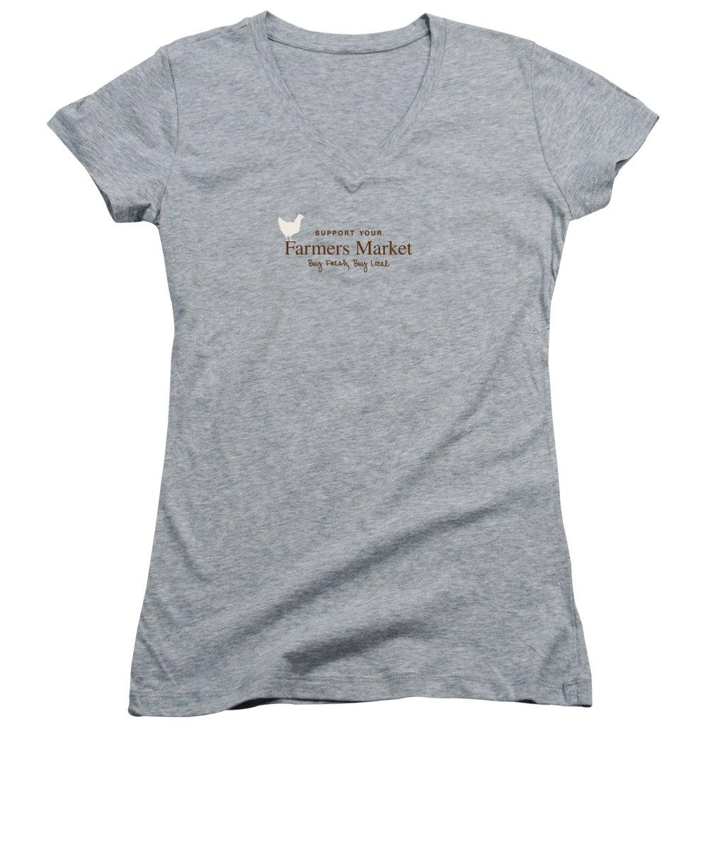 Garden Junior V-Neck T-Shirts