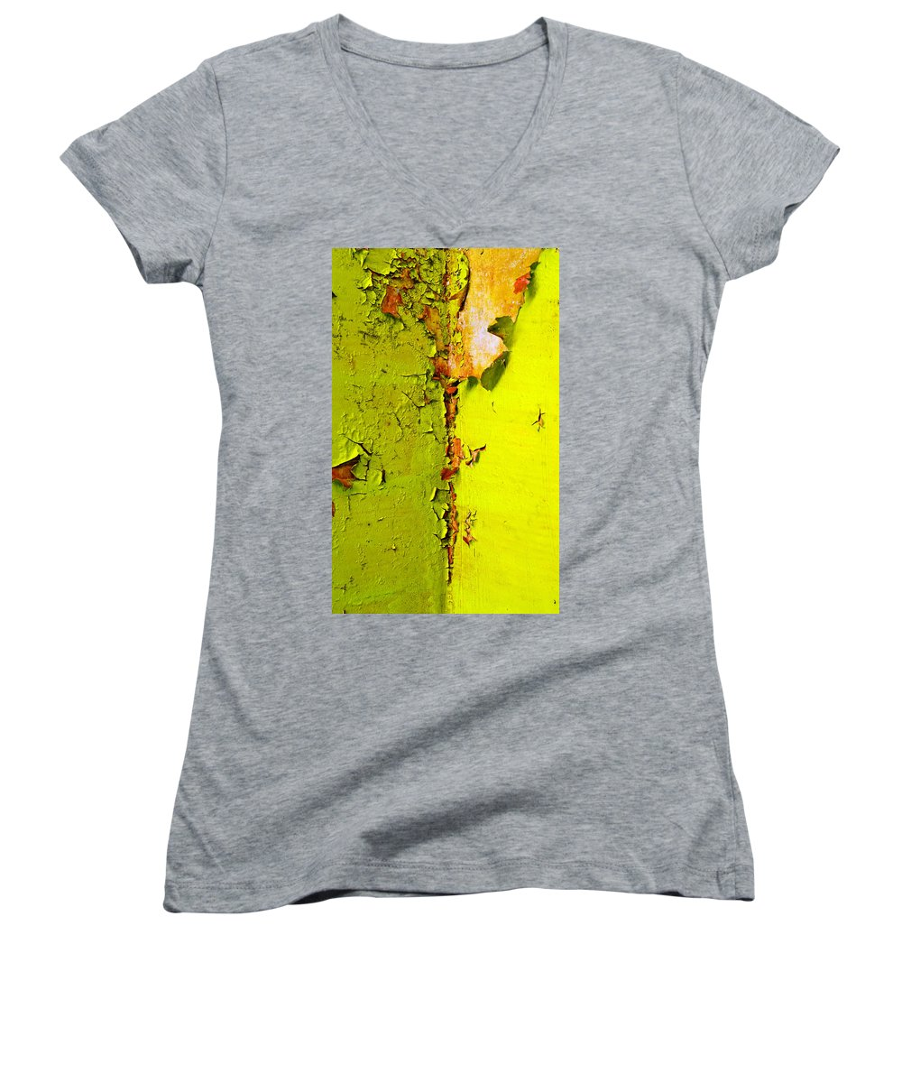 Skip Hunt Women's V-Neck (Athletic Fit) featuring the photograph Going Green by Skip Hunt
