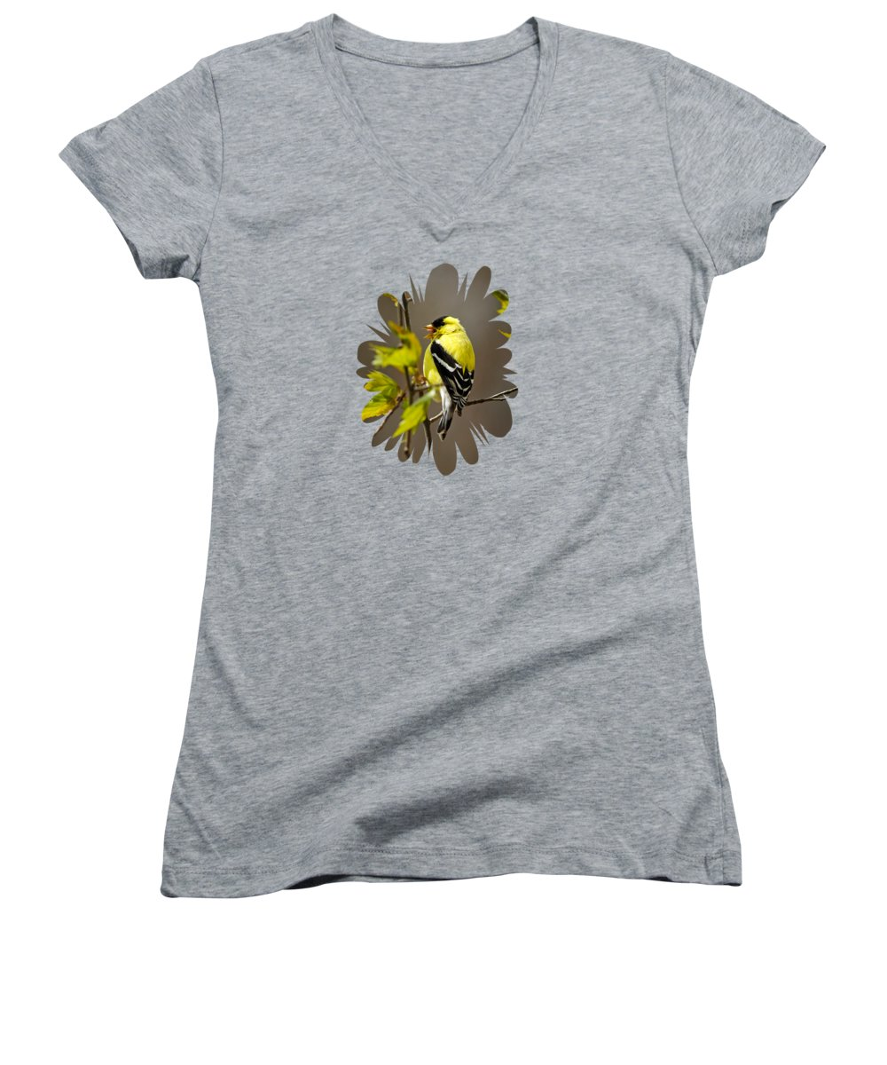 Canary Junior V-Neck T-Shirts