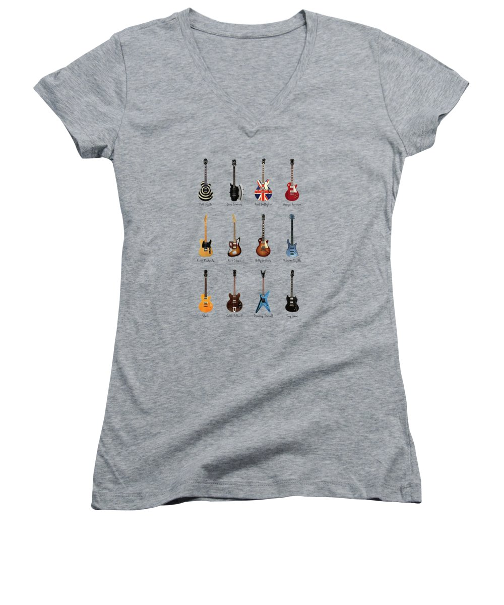 Neil Young Women's V-Neck T-Shirts