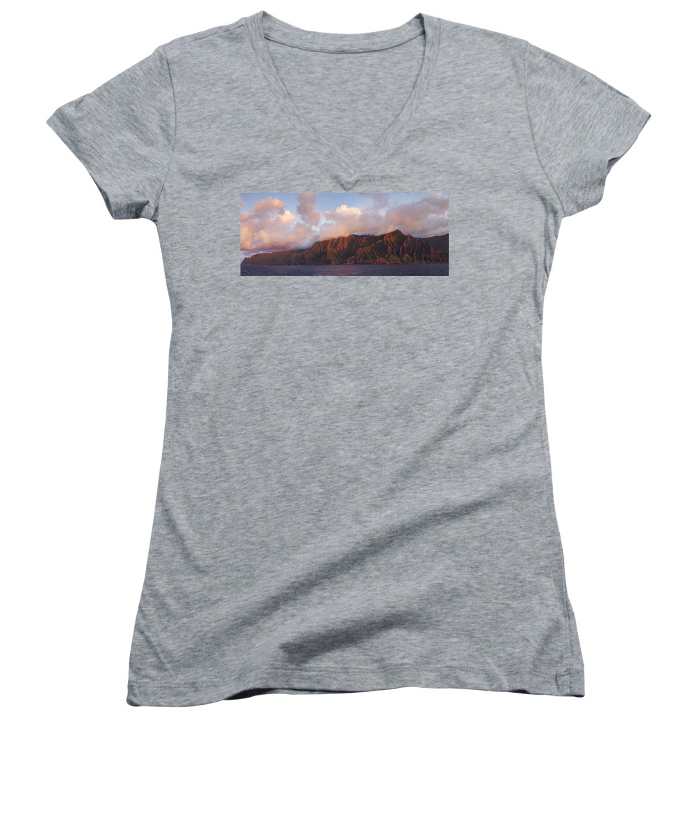 Hawaii Women's V-Neck (Athletic Fit) featuring the photograph Hawaii by Heather Coen