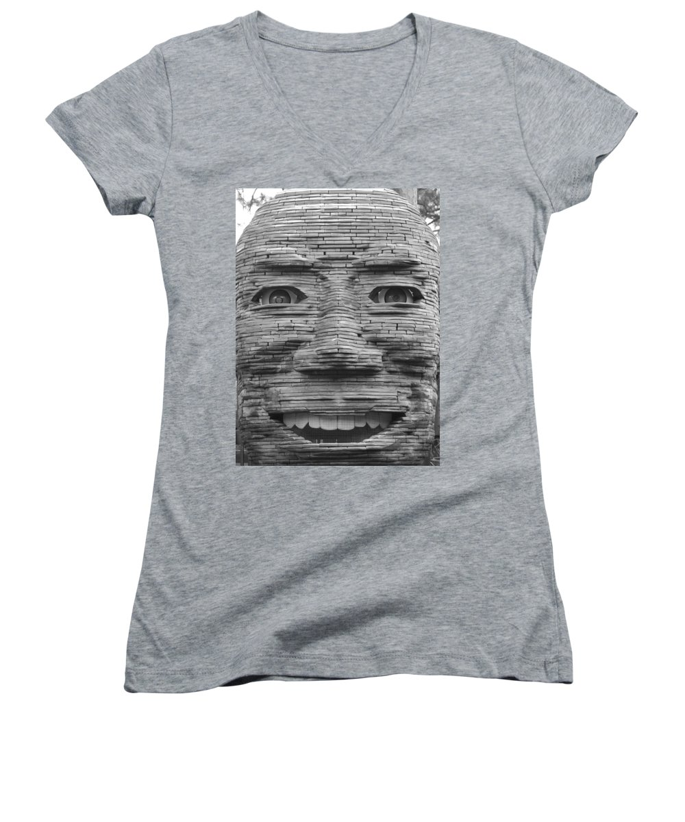 Architecture Women's V-Neck (Athletic Fit) featuring the photograph In Your Face by Rob Hans
