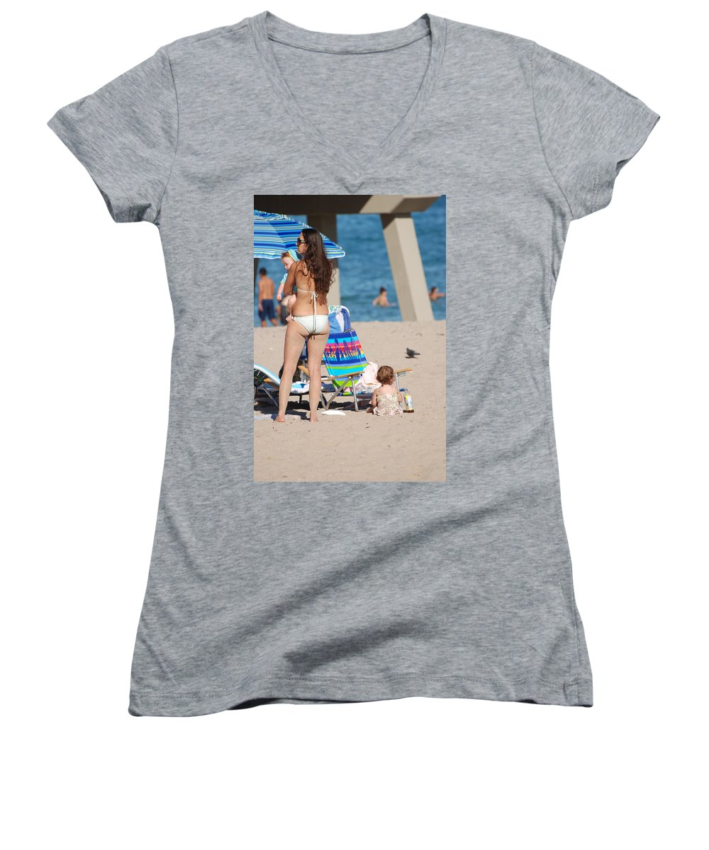 Mother Women's V-Neck (Athletic Fit) featuring the photograph Mother by Rob Hans
