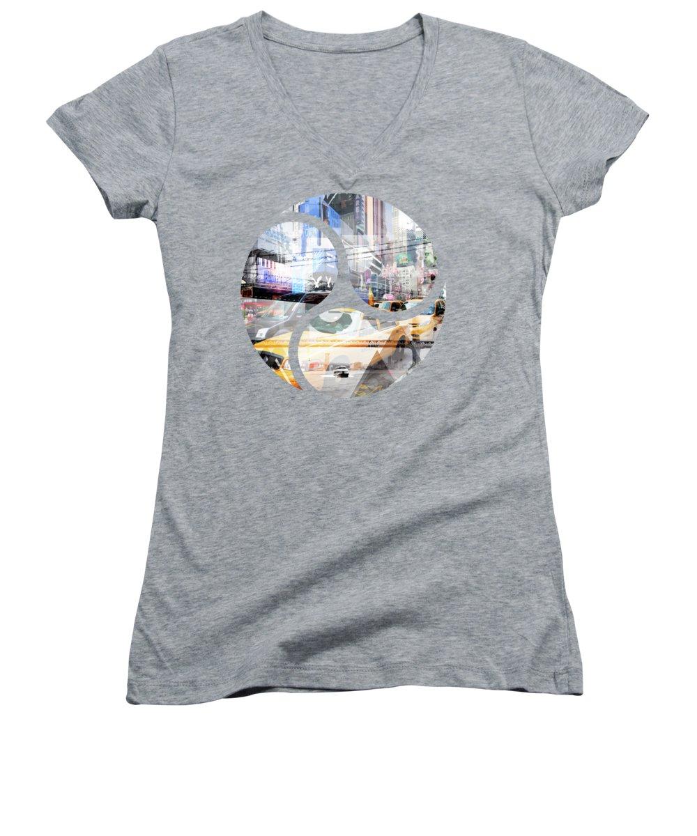 Brooklyn Bridge Junior V-Neck T-Shirts