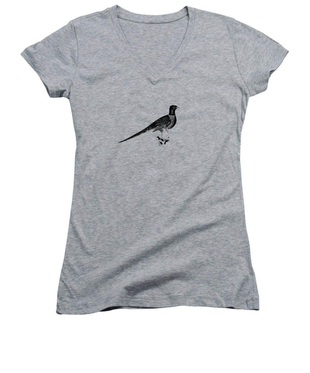 Pheasant Junior V-Neck T-Shirts